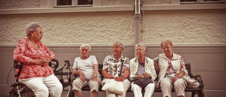seniors gathering