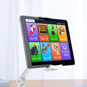 Entertainment tablet for elderly